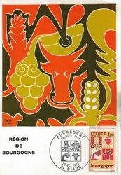 region de bourgogne 1980