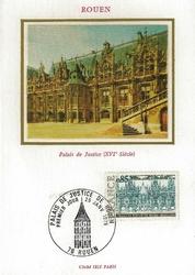 palais de justice de rouen 1975