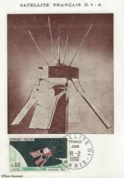 satellite francais D1 1966