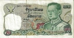 BILLET THAILANDE 20