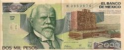 BILLET MEXIQUE 2000