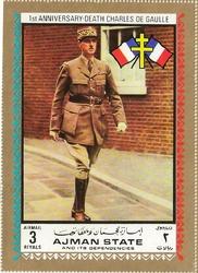 timbre géant général de gaulle