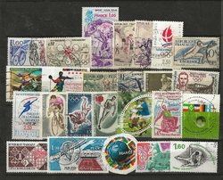 25 TIMBRES SPORT FRANCE