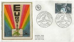 1980 EUROVISION ENVELOPPE