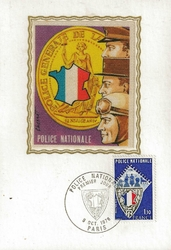 1976 POLICE NATIONALE
