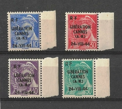 timbre libération de cannes mercure