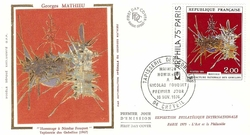 MATHIEU HOMMAGE A FOUQUET 1974