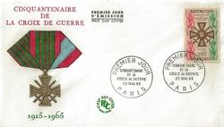 croix guerre 1965