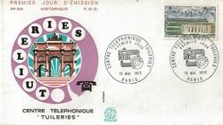 1973 centre téléphonique des tuileries