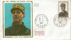 1971 DE GAULLE LILLE