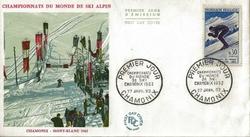 1962 CHAMONIX SKI