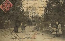 jardin public de Tonneins 1906