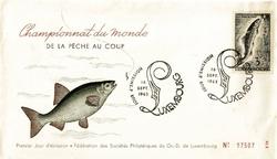 1963 CHAMPIONNAT PECHE LUXEMBOURG