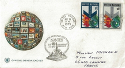 1979 ADM POSTALE NATIONS UNIES