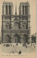 Notre Dame Paris 1916