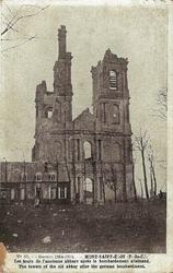 abbaye mont st eloi 1ere guerre