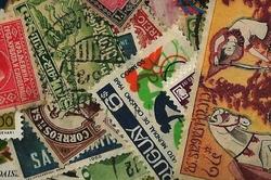 100 timbres de 100 pays