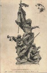 LYON MONUMENT ENFANTS DU RHONE