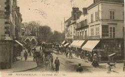 fontainebleau la grde rue 1916