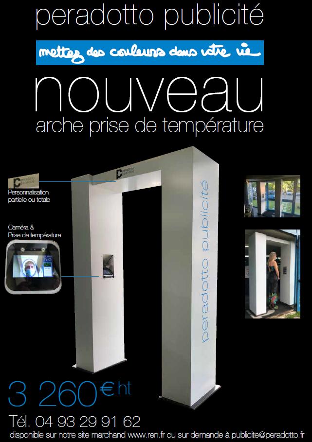 Arche personnalisable / Caméra thermique