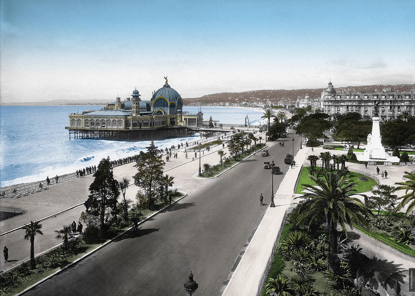 Tableau Bords Pliés - Haut de gamme - Nice, Promenade des Anglais