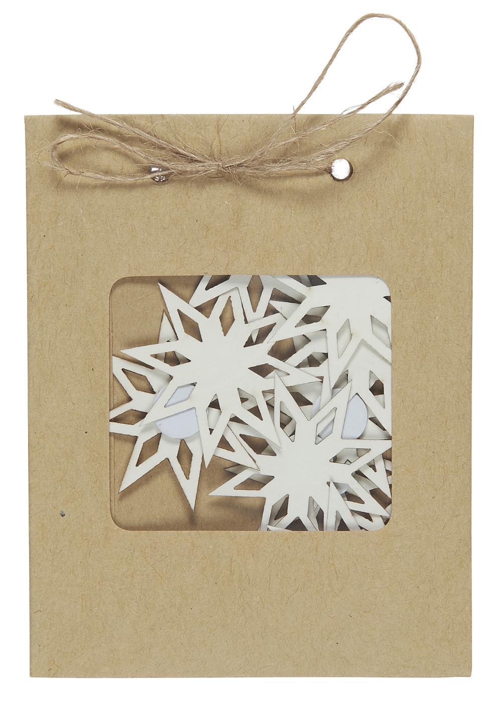 Etoile papier cartonné stickers
