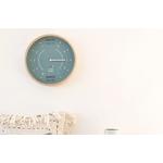 ocean-clock-articblue