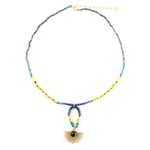 collier_etoile_solaire_jaune_turquoise
