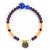 bracelet_fogo_beige_orange_bordeaux_bleu