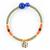 bracelet_fogo_marron_orange_vert_bleu