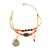 bracelet_indie_orange_noir_or