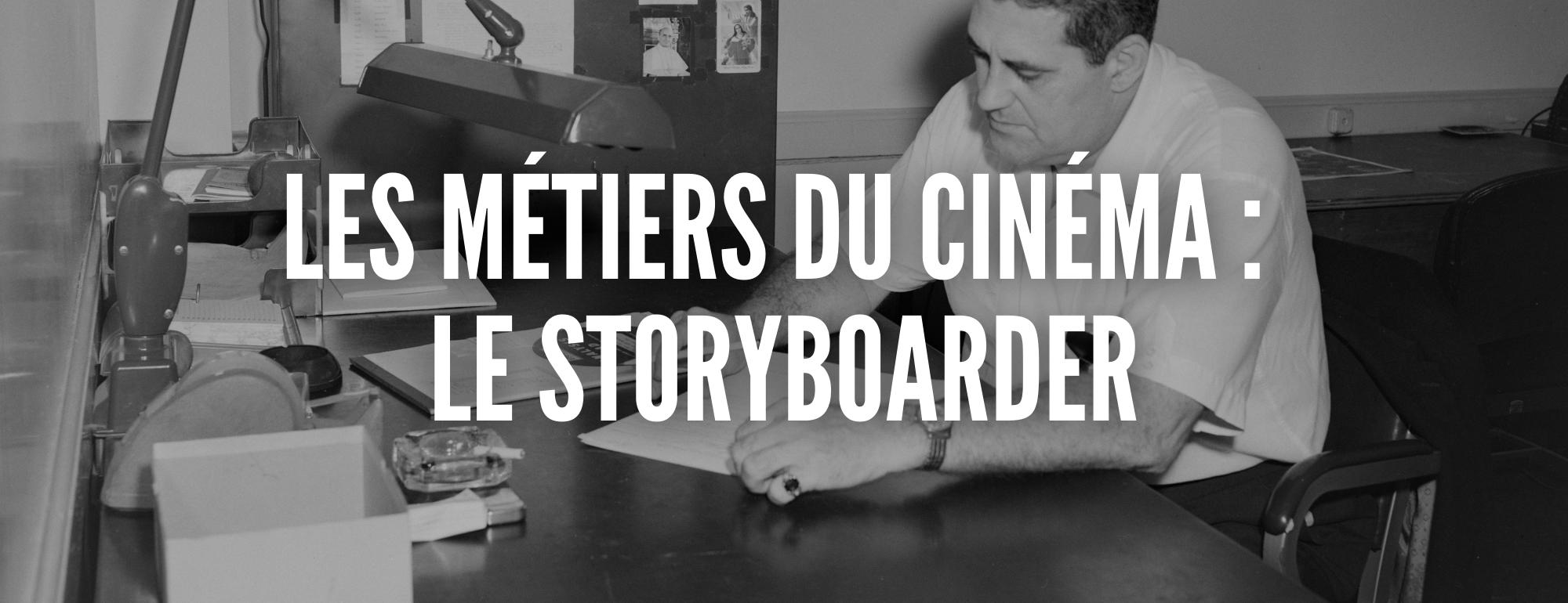 metier storyboarder
