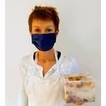 Les Artisans Ciriers Bruxellois Bougie Photophore Pétales de Rose