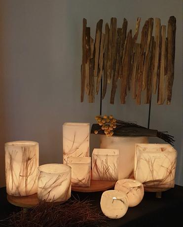 Les Artisans ciriers bruxellois épine de pin