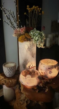 Les Artisans ciriers bruxellois fleur séchée