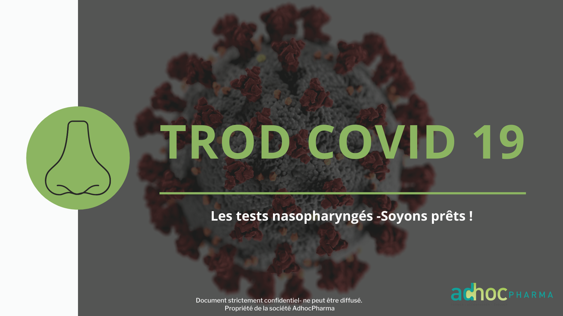 FORMATION TROD COVID 19 ANTIGENIQUE EN PHARMACIE