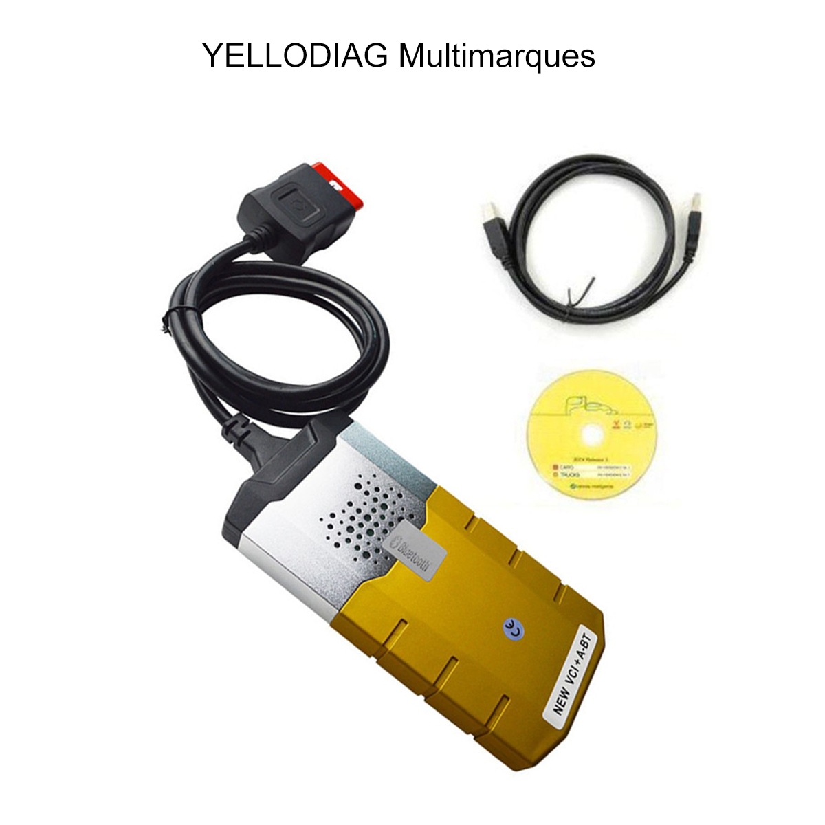 Valise de diagnostic YELLODIAG Multimarques