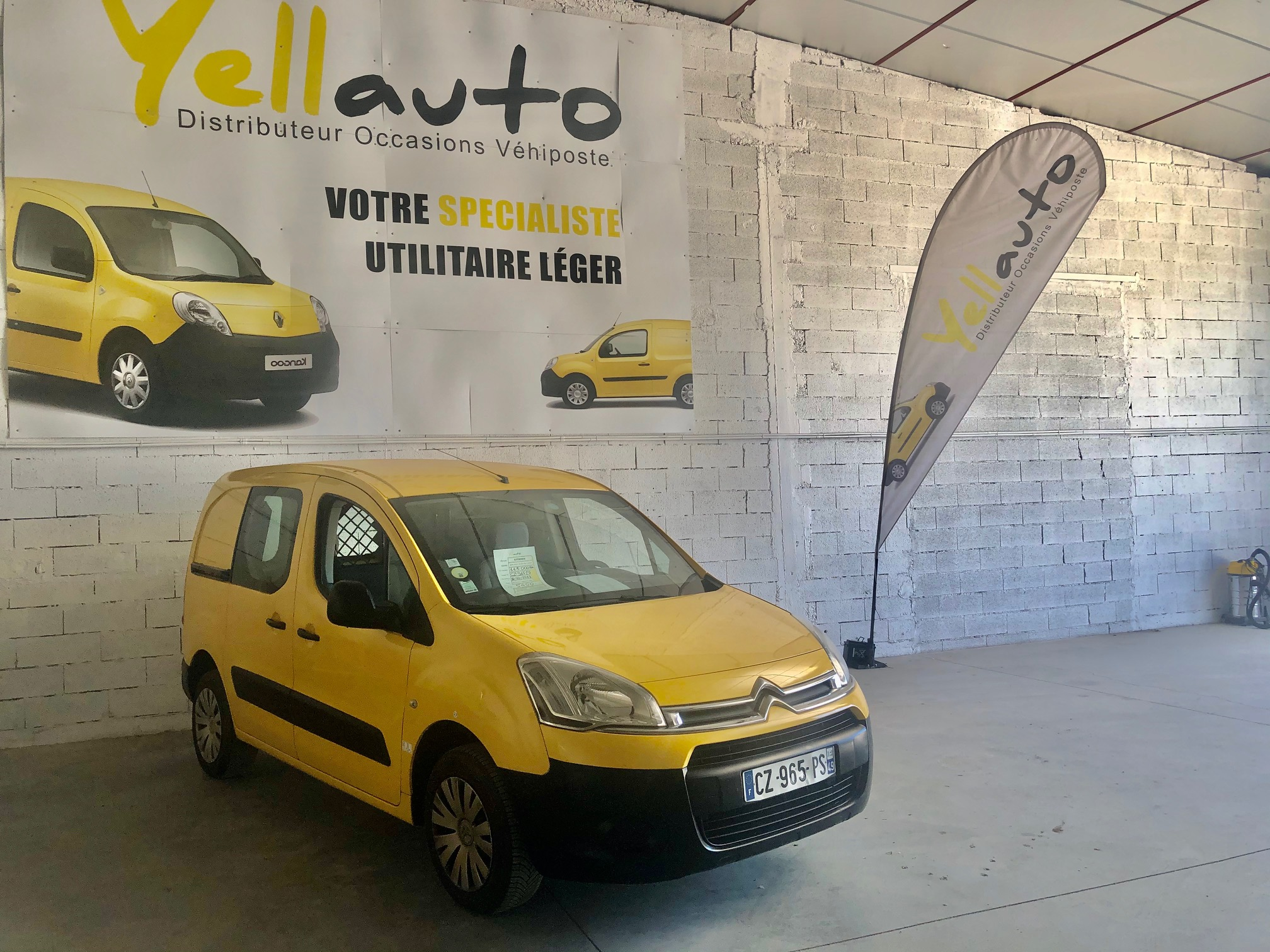 CITROËN BERLINGO 1.6 HDI 75 confort 3 places de 2013 avec 113000 km
