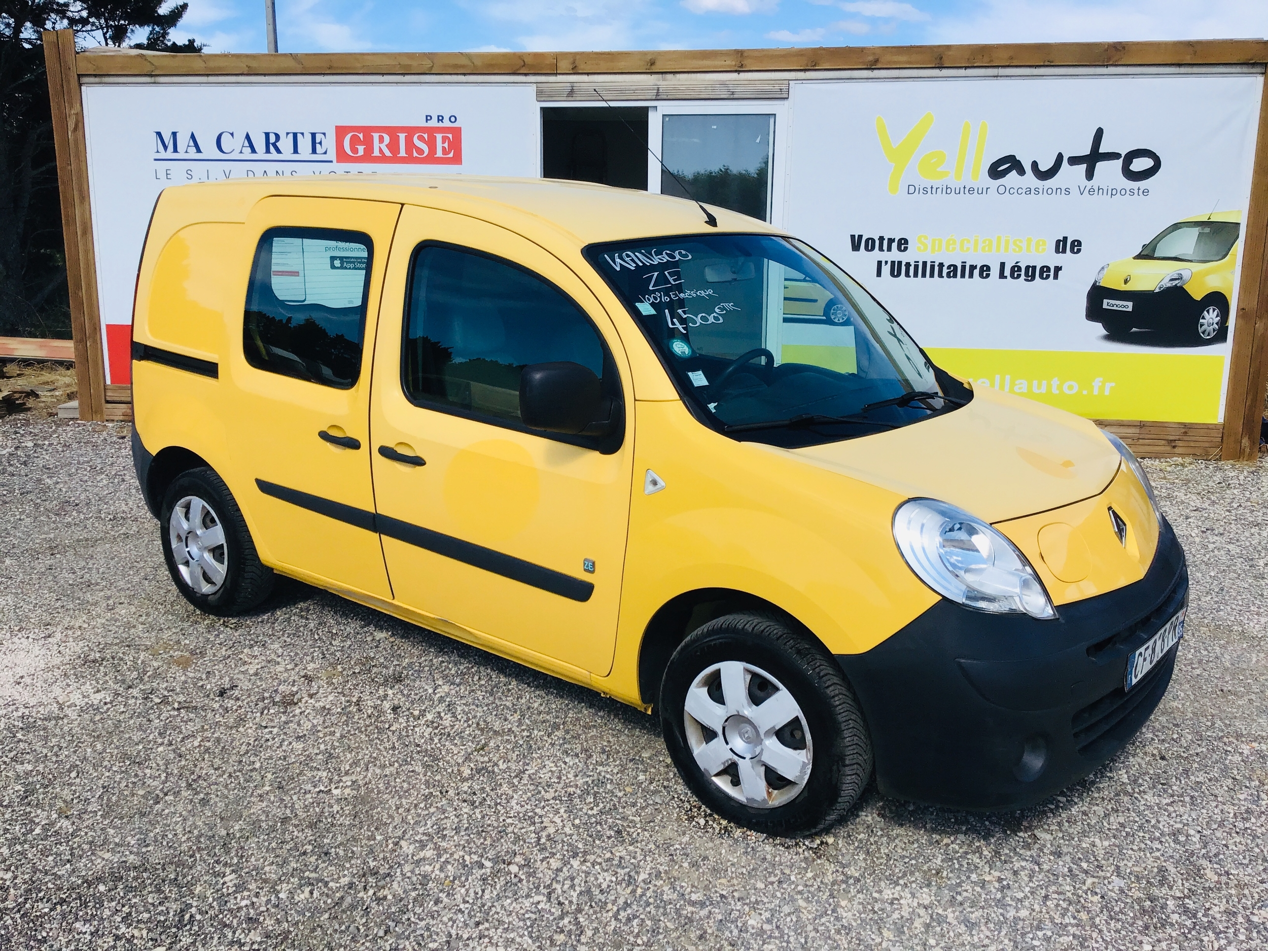 Renault Kangoo ze de 2012 avec 70 000km