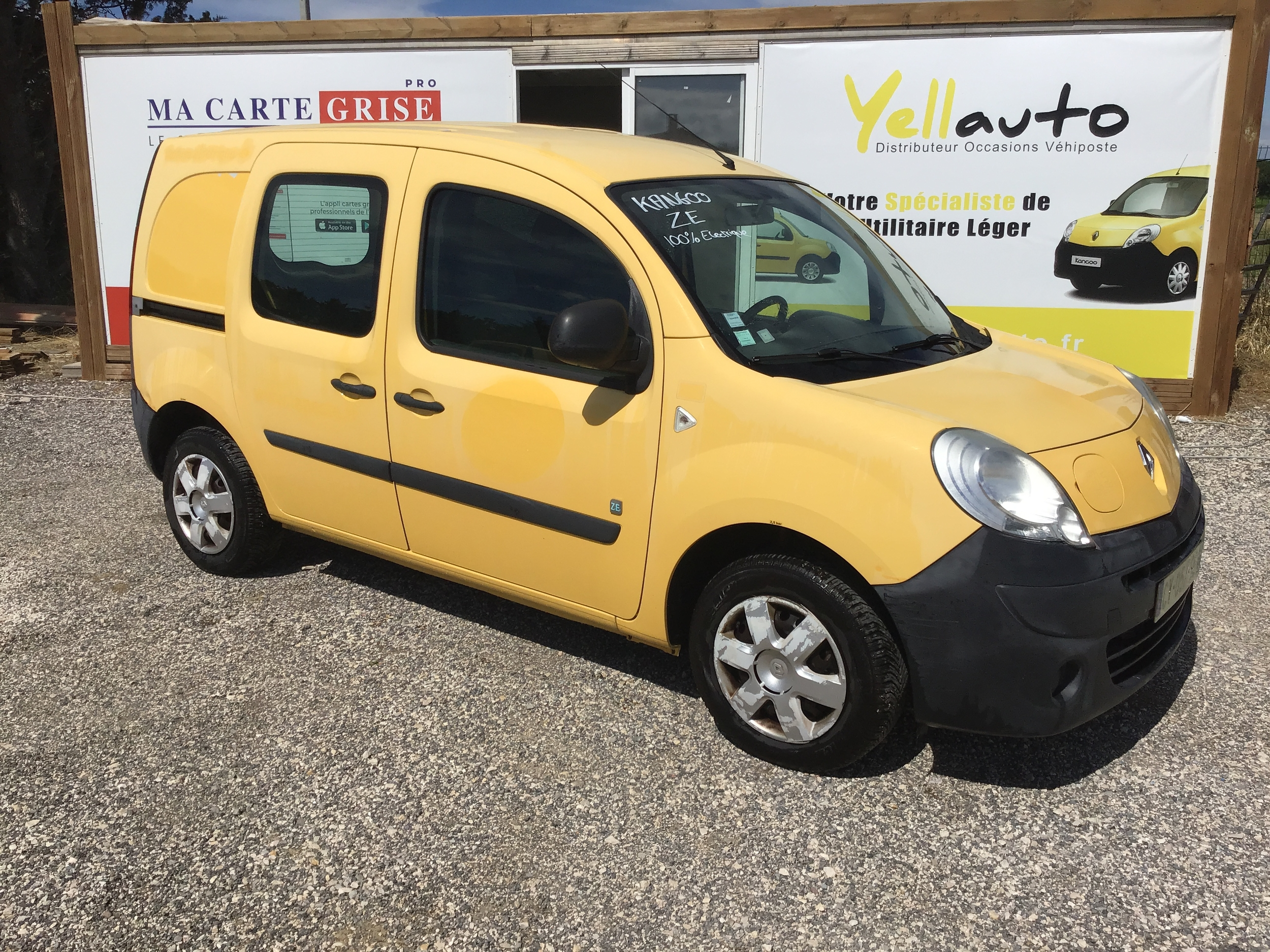 Renault Kangoo ZE de 2013 avec 95 000km - petit prix