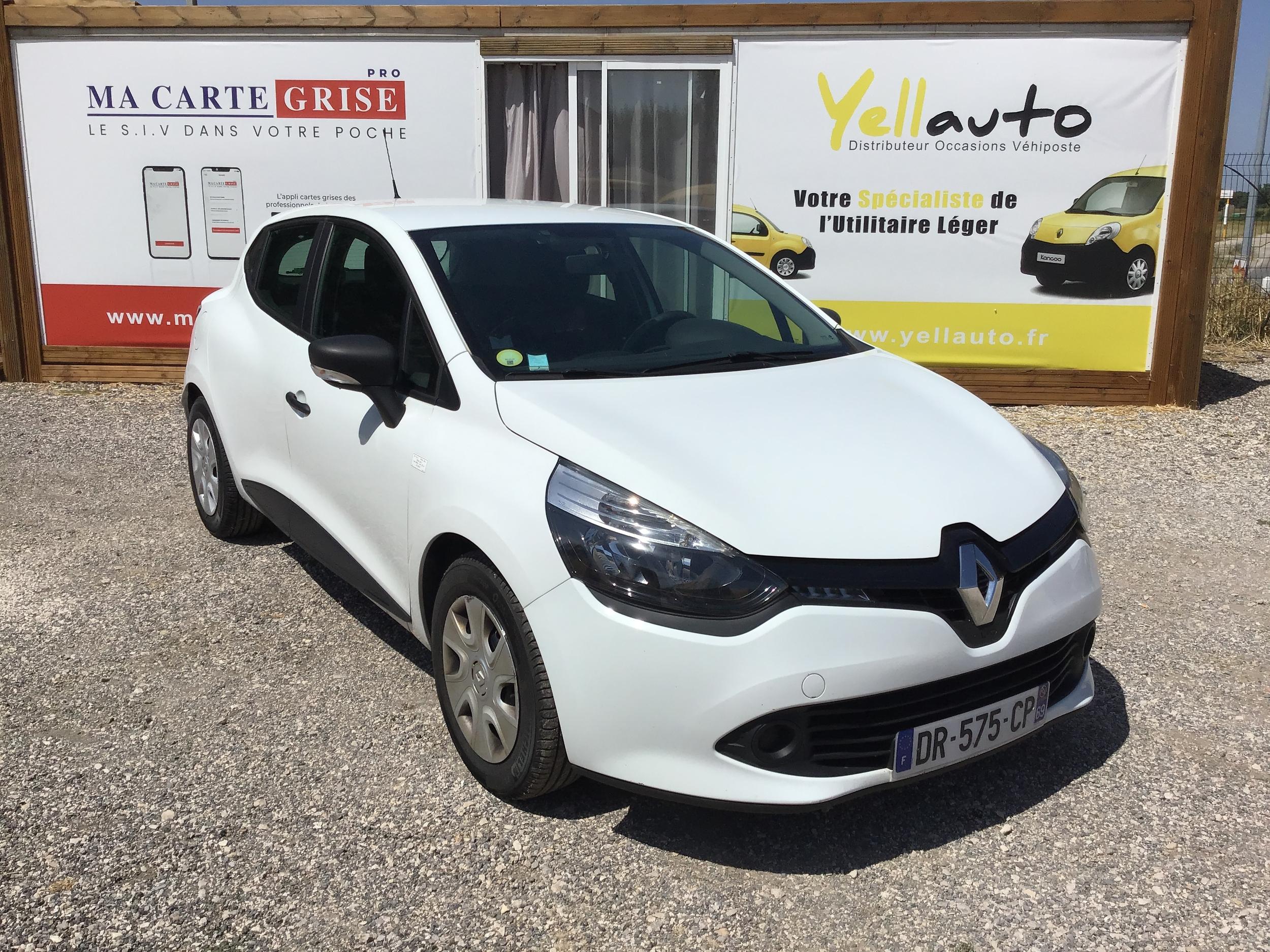 Renault Clio 4 société 1.5 dci 75cv de 2015 avec 109 000km