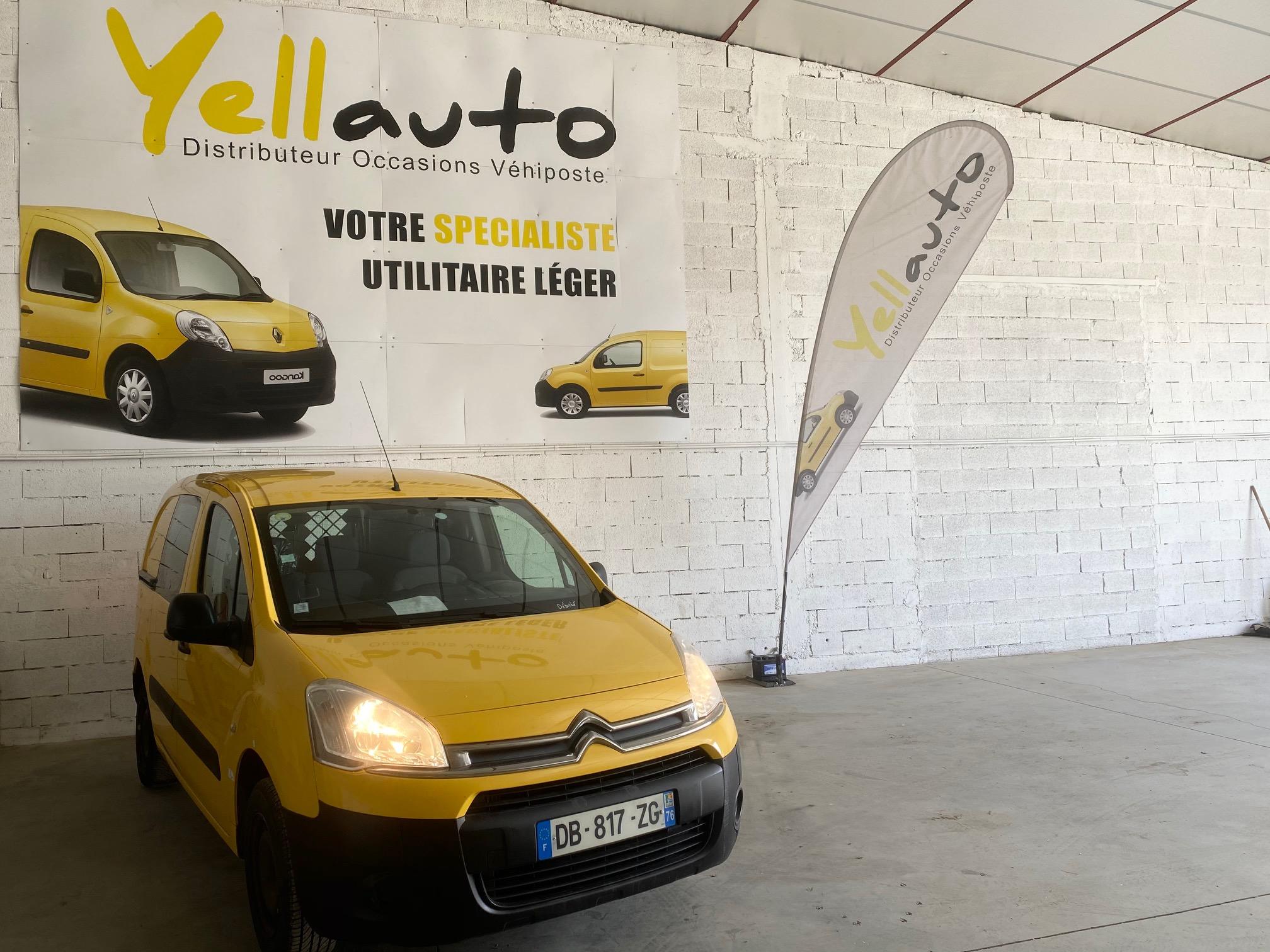 CITROËN BERLINGO 1.6 HDI 75 confort 3 places de 2014 avec 95000 km