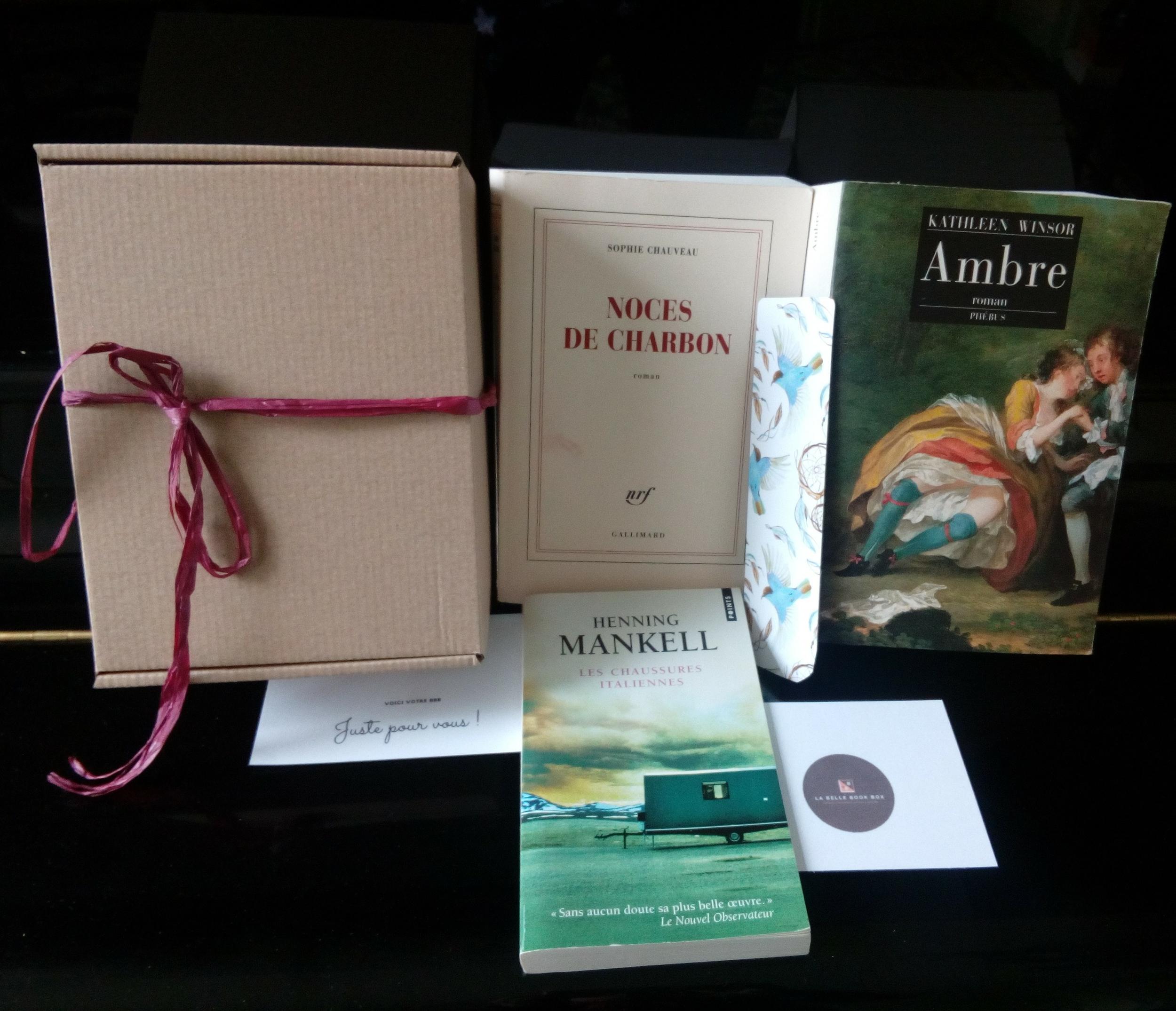 Box Aventures et romances