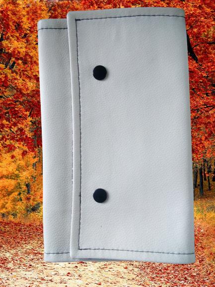 Protège-livre, couleur blanche