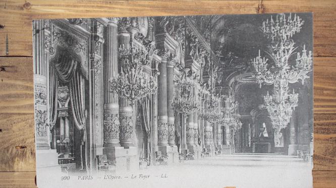 Carte postale ancienne : l\'Opéra de Paris