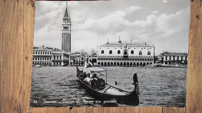 Carte postale ancienne : Venise