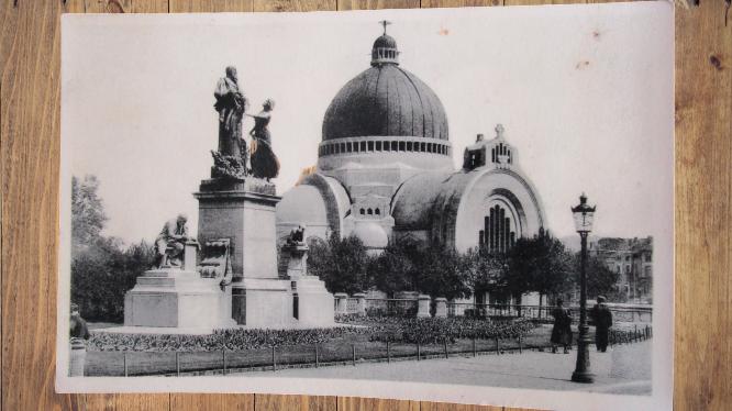 Carte postale ancienne : Liège, Eglise