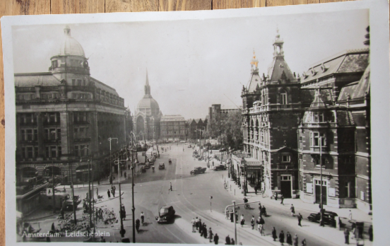 Carte postale ancienne : Amsterdam