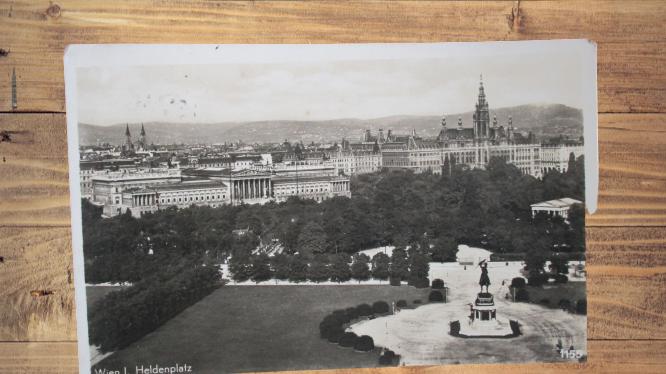 Carte postale ancienne : Vienne