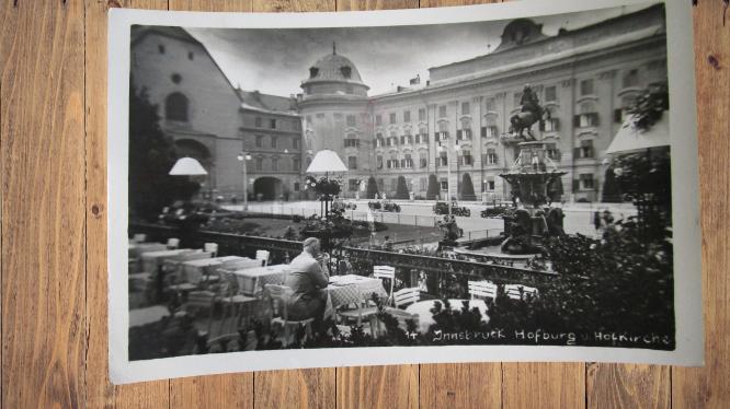 Carte postale ancienne : Innsbruck